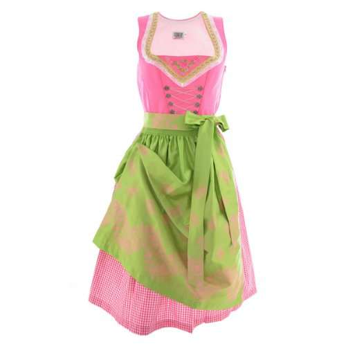 Midi Dirndl Ina in Pink von Country Line