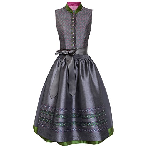 Midi Dirndl Katl in Anthrazit von Country Line