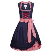 Mini Dirndl Alexia in Blau