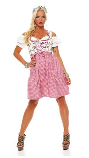 Dirndl pink Fashion4Young